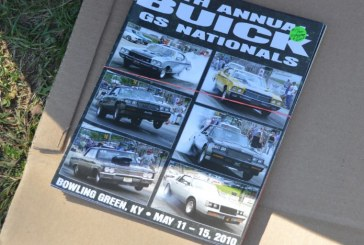 Buick GS Nationals Official Programs