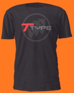 buick t type triple shield shirt