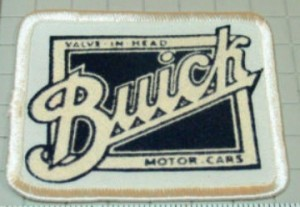 old square buick logo patch