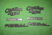 1984 Buick Carolina Regal Limited Emblems
