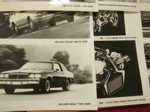 1986 buick press kit