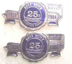 ROSS BUICK DEALERSHIP 25TH ANNIVERSARY