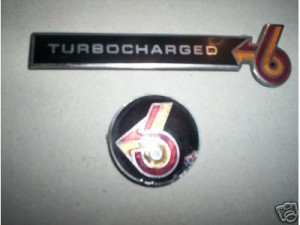 buick turbocharged emblem
