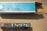 Buick Regal T-Type Emblems