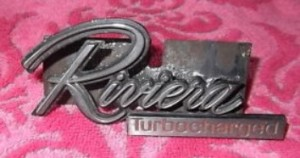 turbocharged riviera grill emblem