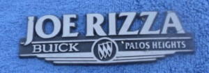 joe rizza buick dealer emblem