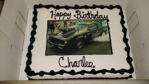 buick regal car cake