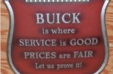 Buick Dealership Signs for Your Home Garage