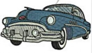1952 Buick Roadmaster Embroidered Patch