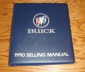 1990 Buick Selling Manual 1