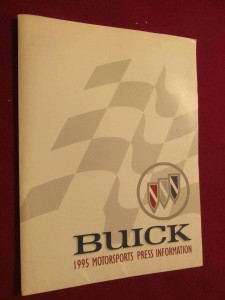 1995 Buick Motorsports Press Kit 1