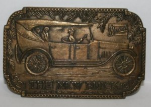 Belt Buckle 1921 The New Buick