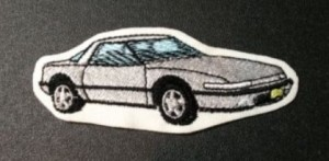 Buick Reatta Embroidered Patch