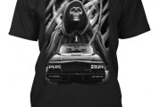 Turbocharged Wearables! Black Buick Grand National Shirts