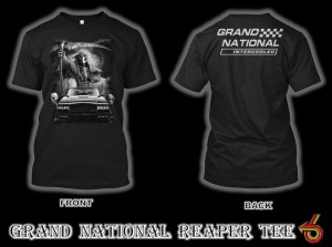 buick grand national reaper t shirt