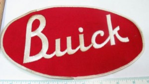 large buick jacket patch