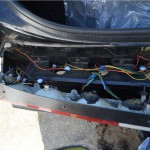 buick grand national rear light lens removal