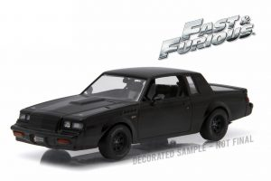 GREENLIGHT BUICK GRAND NATIONAL FAST AND FURIOUS 1-43 2