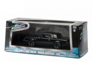 GREENLIGHT BUICK GRAND NATIONAL FAST AND FURIOUS 1-43 3