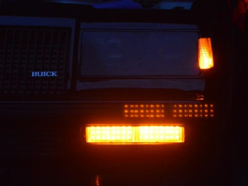 buick grand national front LED lights