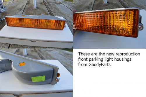 buick grand national parking light housing
