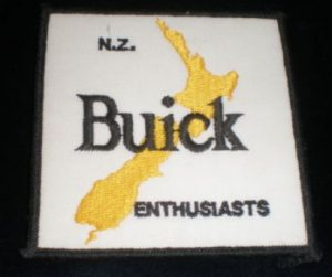 new zealand buick enthusiasts patch