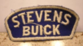stevens buick jacket patch
