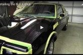Detailing the Paint Finish on a Buick GNX