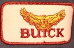 buick hawk red gold patch