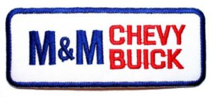 m and m chevy buick patch