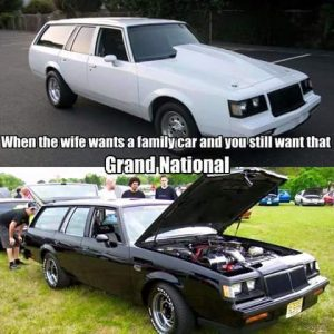 buick grand national family car