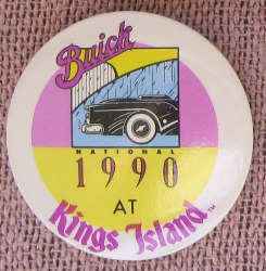 Buick National 1990 at Kings Island button