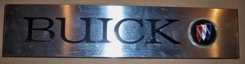 Buick dealership sign metal 4x14 inch