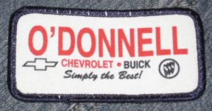 Odonnell Chevrolet Buick dealer patch