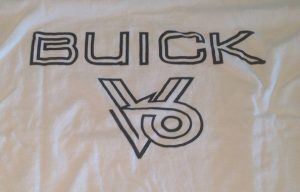anatomy of power buick v6 shirt