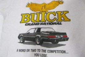 White Buick Grand National T-Shirts