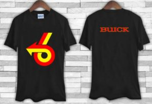 buick turbo 6 logo t-shirt
