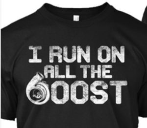 i run on all the boost shirt