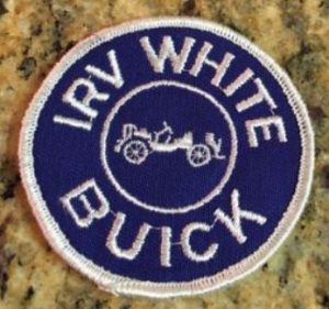 irv white buick dealer patch