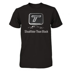 stealthier than black shirt