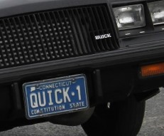 quick 1 buick plate