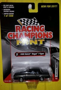 1986 BUICK REGAL T-TYPE 2017 RACING CHAMPIONS VERSION A 1 OF 1336 - 1