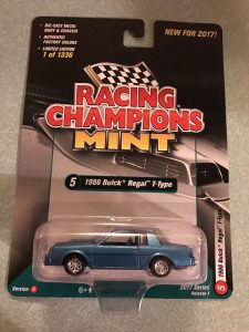 1986 BUICK REGAL T-TYPE 2017 RACING CHAMPIONS VERSION B 1 OF 1256 -4