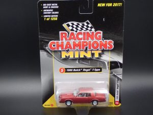 1986 BUICK REGAL T-TYPE 2017 RACING CHAMPIONS VERSION C 1 OF 1256 -1