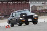Buick Grand National Strip & Slalom Testing at the Track -video