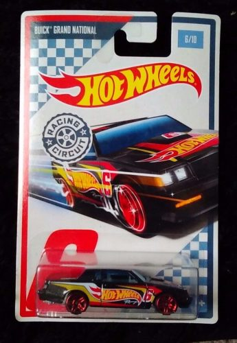 2017 hotwheels racing circuit buick grand national 1