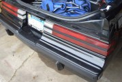 SpoolFool Single Piece Rear Bumper Filler for Buick Grand National