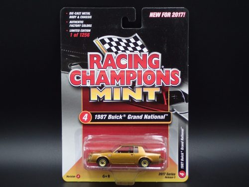 2017 RACING CHAMPIONS MINT R2 VER A GOLD STRIKE CHASE buick grand national 1
