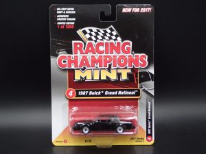 2017 RACING CHAMPIONS MINT RELEASE 2 VERSION A 1987 BUICK GRAND NATIONAL 1