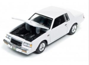 2017 RACING CHAMPIONS MINT RELEASE 2 VERSION A white 1987 BUICK GRAND NATIONAL